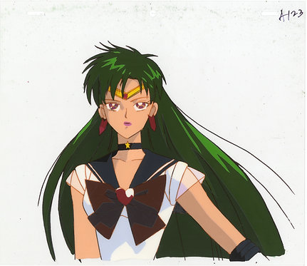 Original Sailor Moon Anime Production Cel - Super Sailor Pluto