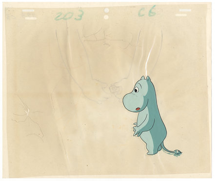 Original New Moomin Anime Production Cel