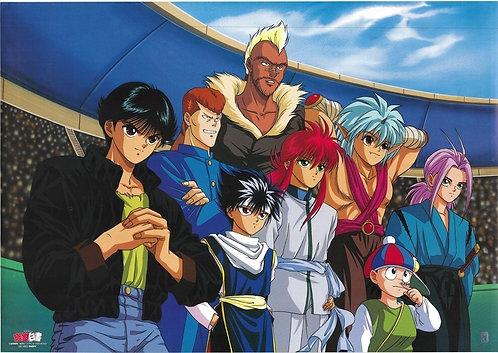 Original Yu Yu Hakusho Vintage Anime Poster
