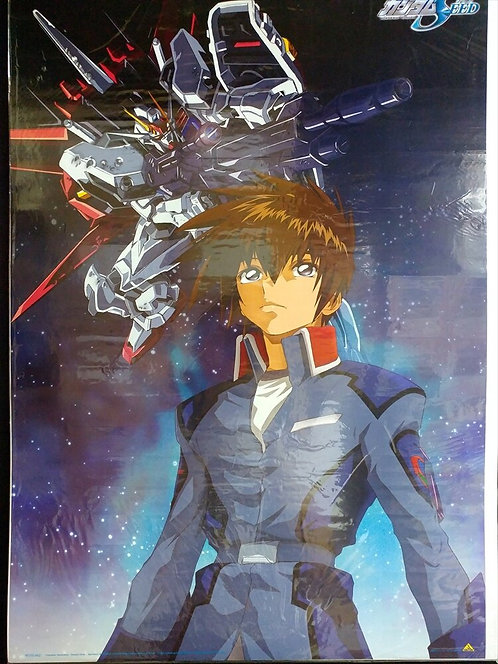 Original Mobile Suit Gundam SEED - Kira Yamato - Anime Poster - DAMAGE