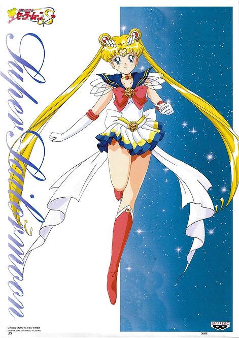 Original Sailor Moon S Anime Poster - Super Sailor Moon