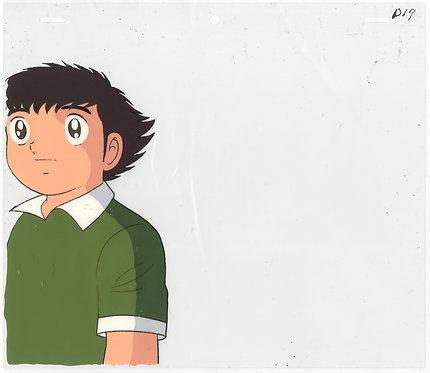Original Captain Tsubasa Anime Production Cel - Tsubasa Oozora