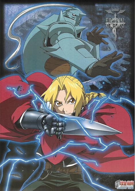 Original Fullmetal Alchemist - Edward and Alphonse Elric - Anime Post