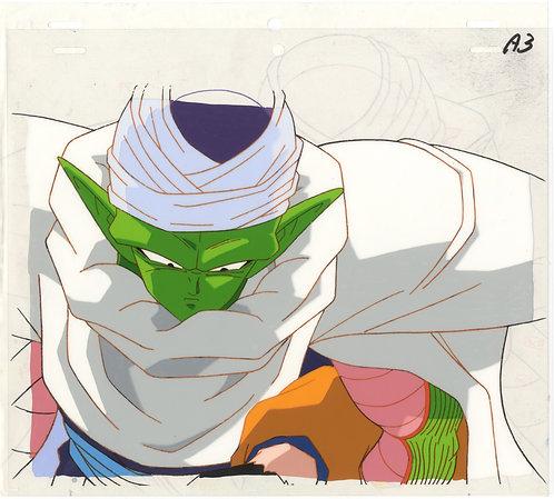 Original Dragon Ball Z Anime Cel - Piccolo carrying Gohan