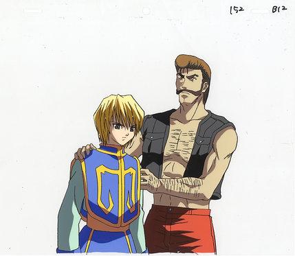 Original Hunter x Hunter Production Cel - Kurapika & Basho
