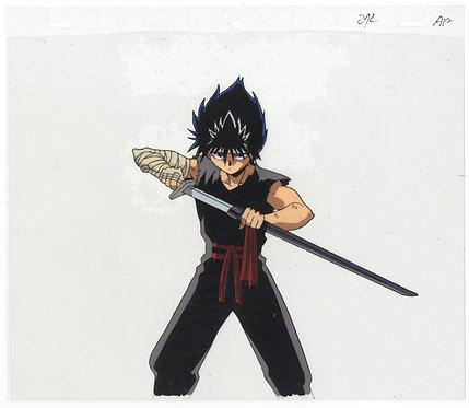 Original Yu Yu Hakusho Anime Production Cel - Hiei