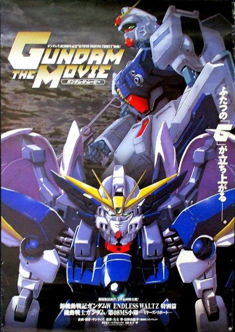 Original Mobile Suit Gundam Movie Anime Poster