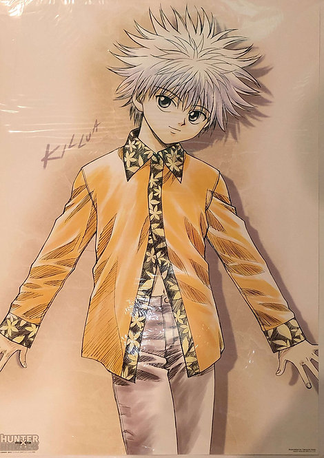 Original HUNTER x HUNTER - Killua Zoldyck - Vintage Anime Poster