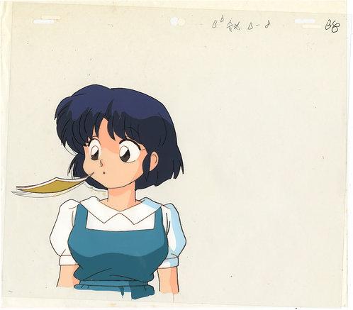 Original Ranma 1/2 Anime Production Cel