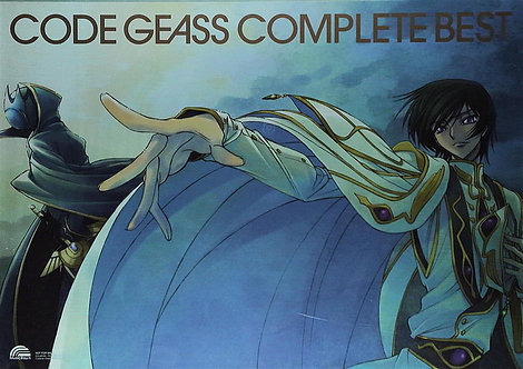 Original Code Geass: The Complete Best Anime Soundtrack Poster