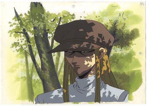 Hunter x Hunter Anime Original Production Cel - Kite