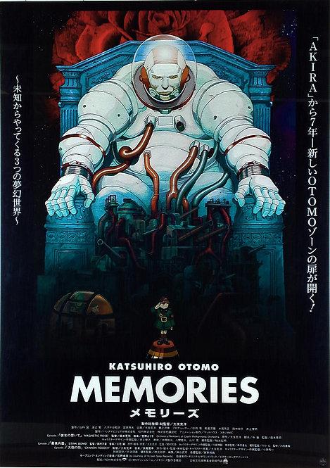 Original Vintage Katsuhiro Otomo Memories Poster