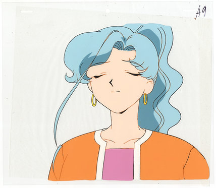 Original Sailor Moon Anime Production Cel - Fish Eye