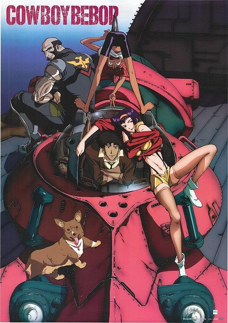 Original Cowboy Bebop Vintage Anime Poster