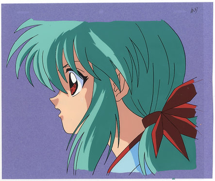 Original Yu Yu Hakusho Anime Production Cel - Yukina