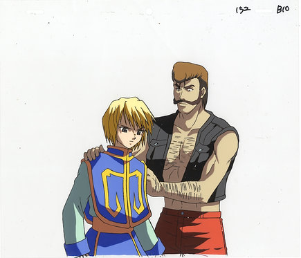 Original Hunter x Hunter Production Cel - Kurapika & Basho