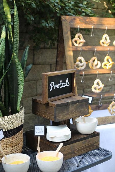 pretzel stand