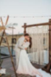 cream macrame backdrop