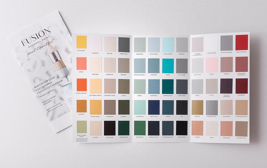 Fusion Color Chart (Full View- 2020)- Hi