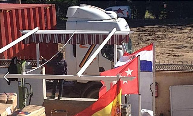 Camion a Paraguay