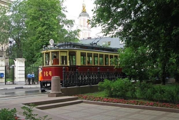 трамвай на чистопрудн