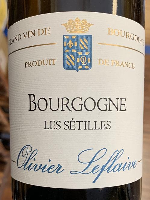 """2018 Olivier Leflaive """"Les Setilles"""", Burgundy"""