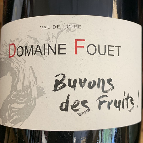 2018 Fouet, Buvons des Fruits, Loire Valley