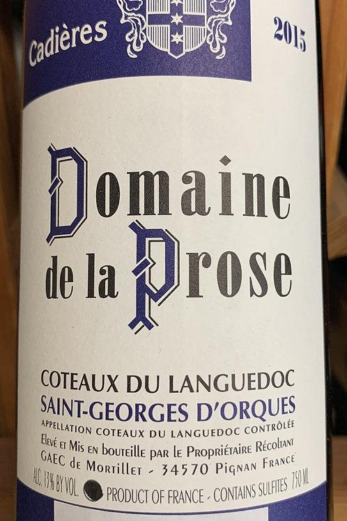 2015 Domaine de la Prose, Languedoc