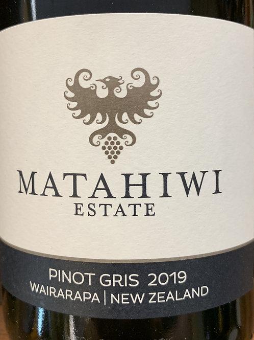 2019 Matahiwi, Pinot Gris, New Zealand