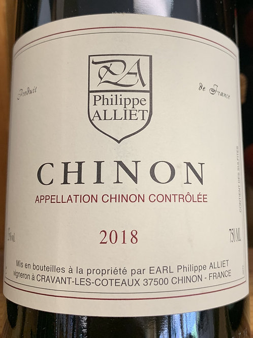 2018 Philippe Alliet, Chinon, Loire Valley