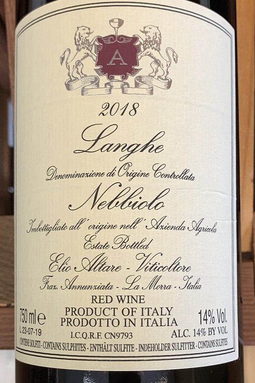 2018 Elio Altare, Langhe Nebbiolo, Piedmont