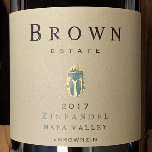 2017 Brown, Zinfandel, Napa Valley