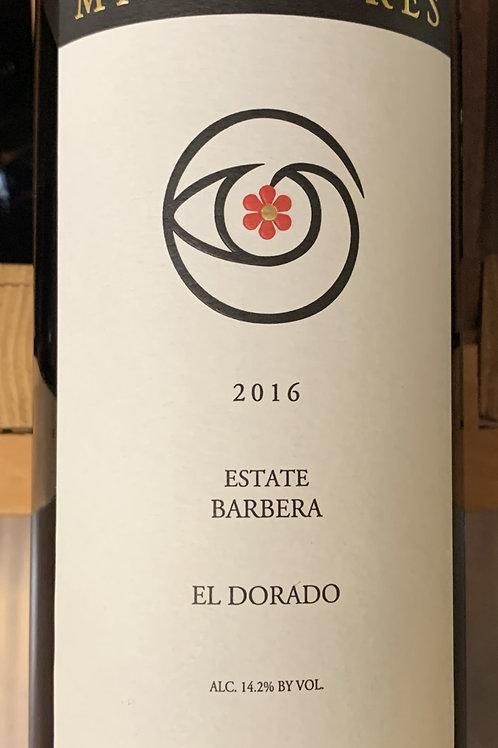 2016 Miraflores, Barbera, El Dorado