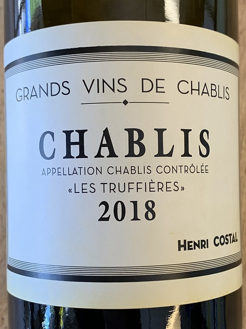 2018 Henri Costal, Les Truffieres, Chablis