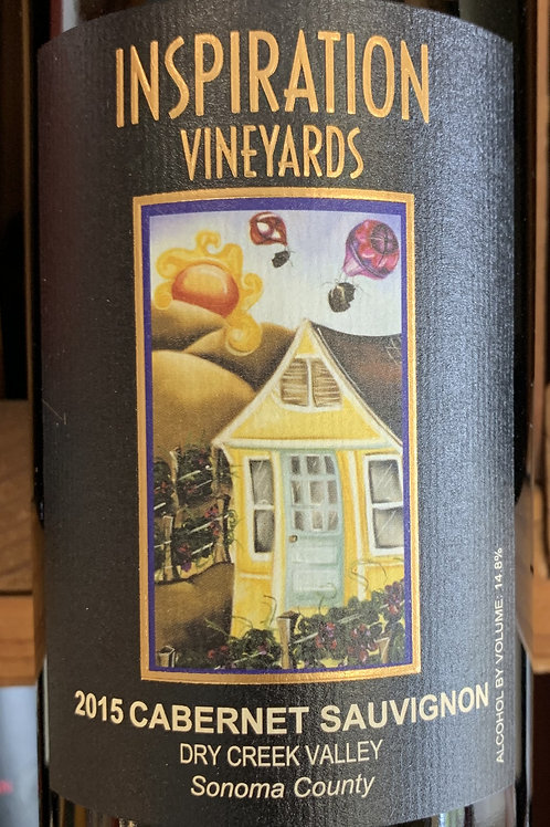 2015 Inspiration Vineyards, Cabernet, Dry Creek