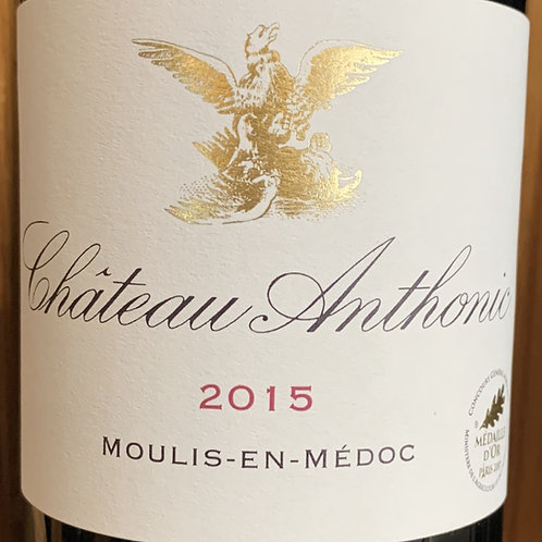2015 Anthonic, Bordeaux, Moulis en Medoc