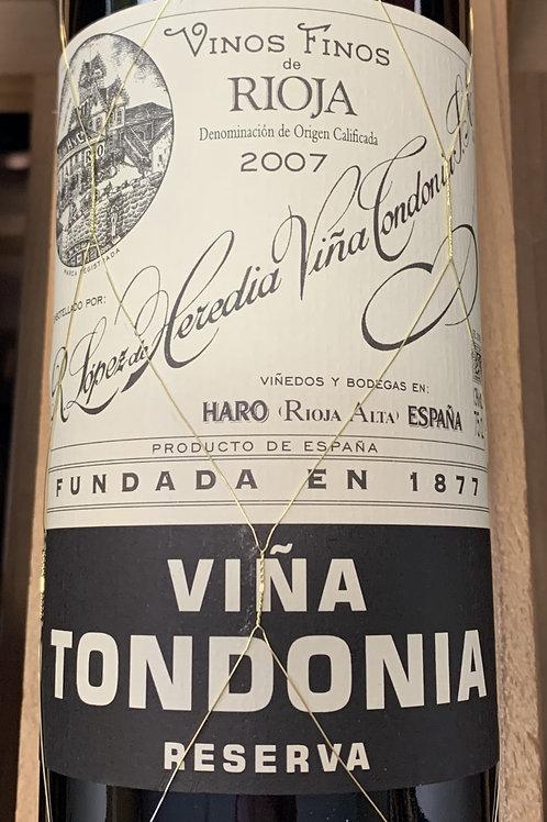 2007 Viña Tondonia, Reserva, Rioja