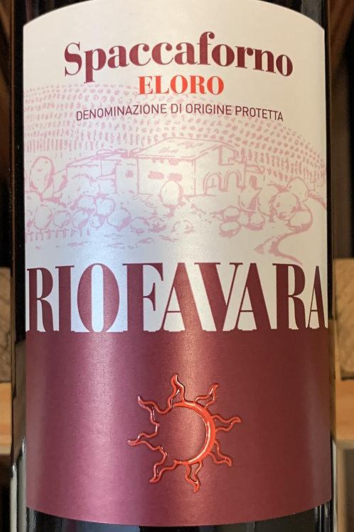 """2015 Riofavara """"Spaccaforno"""",Eloro"""