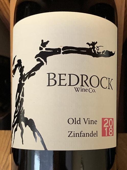 2018 Bedrock, Old Vine Zinfandel, California