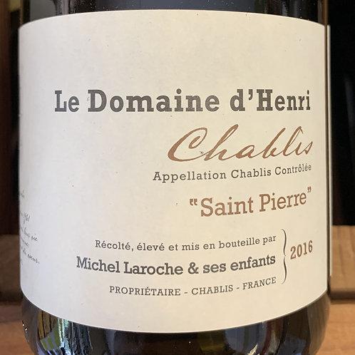 2016 Le Domaine d'Henri, Chablis, Burgundy