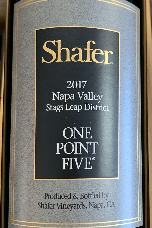 2017 Shafer, One Point Five, Stags Leap