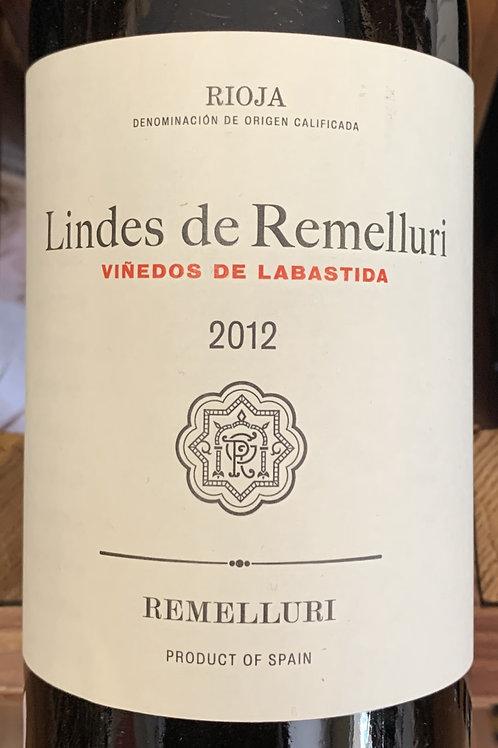 2012 Lindes de Remelluri, Rioja