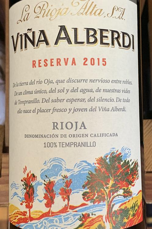 2015 Vina Alberdi, Reserva, Rioja