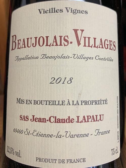 2018 Jean-Claude Lapalu, Beaujolais Village