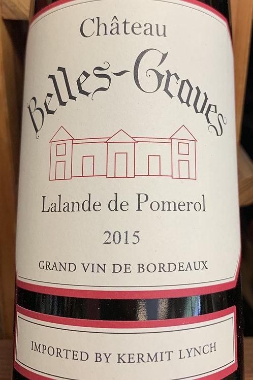 2015 Chateau Belles Graves, Lalande de Pomerol