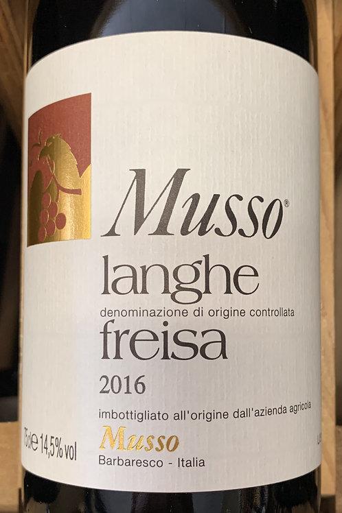 2016 Musso, Langhe Freisa, Piedmont