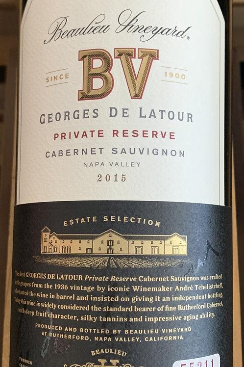 2015 BV Georges de Latour, Cabernet, Napa Valley