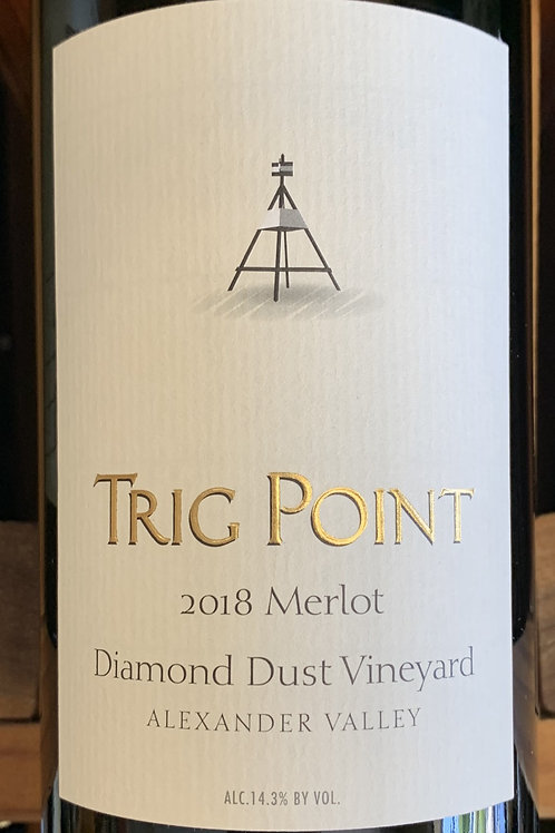 2018 Trig Point, Merlot, Alexander Valley
