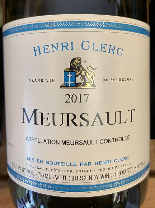 2017 Henri Clerg, Meursault