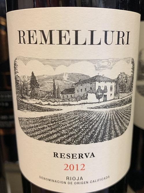 2012 Remelluri, Reserva, Rioja